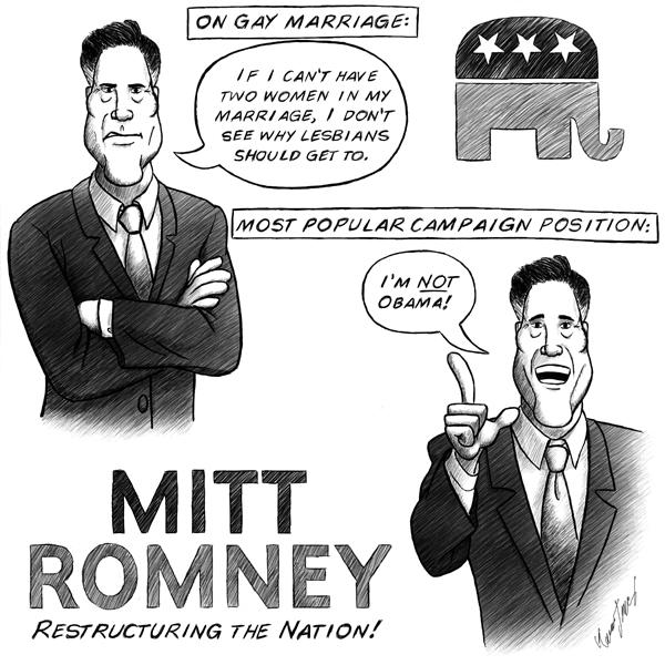 Gay marriage mitt romney