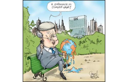Harper & Climate Change